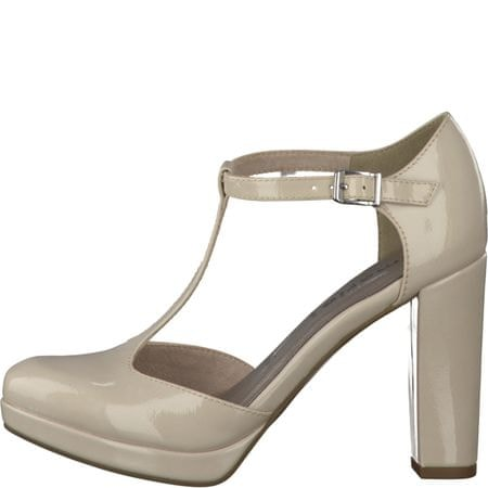 Tamaris női magassarkú cipő 36 bézs  828dbc6912