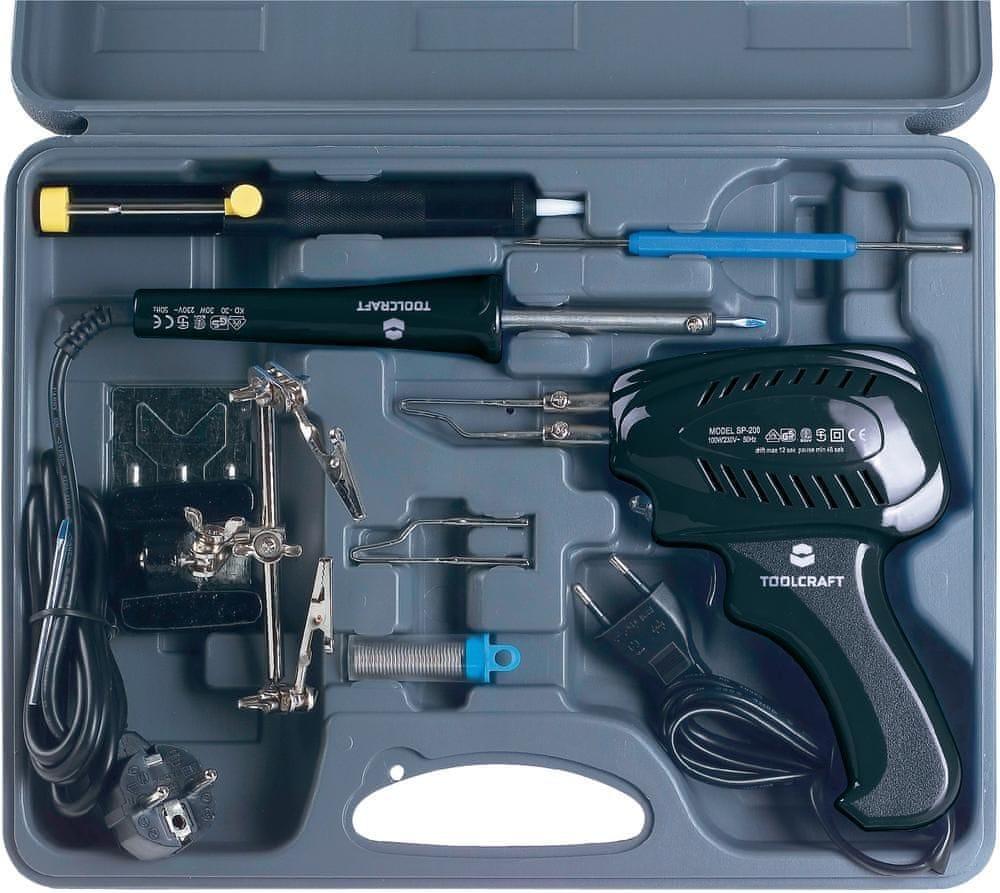 Toolcraft Pájecí souprava Toolcraft 30 W/100 W - zánovní