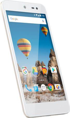 General Mobile GSM telefon 5 LTE, zlat + Darilo: zavarovanje