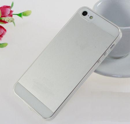 tanek silikonski ovitek za iPhone 7, prozoren