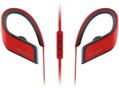Panasonic bežične slušalice RP-BTS30E, crvene