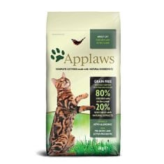 Applaws mačja hrana, piščanec in jagnjetina, 2 kg