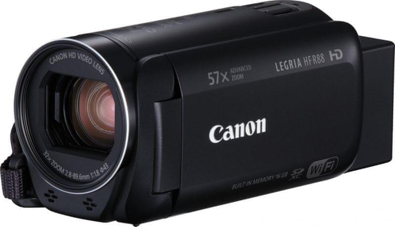 Canon Legria HF R88 + 1100 Kč od Canonu zpět!