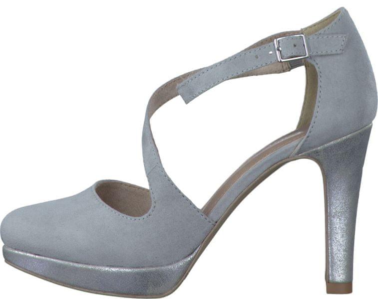 s.Oliver dámské sandály 39 šedá