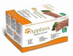 Applaws Cat paté 7 x 100g MultiPack FRESH oranžový
