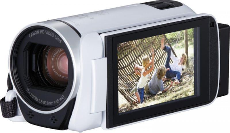 Canon Legria HF R806 Essential Kit White + 800 Kč od Canonu zpět!