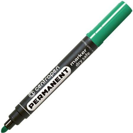 Značkovač 8510 nevysychavý permanent zelený