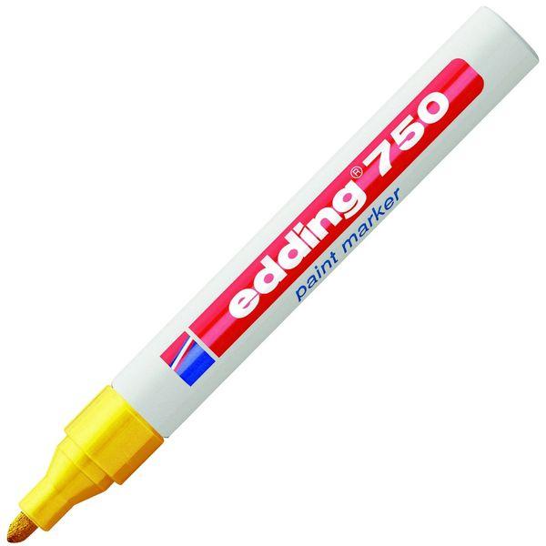 Značkovač EDDING 750 žlutý lakový