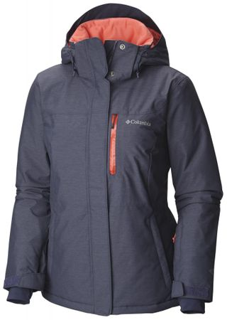 Columbia jakna Alpine Action, ženska, sivo-koralna, XL