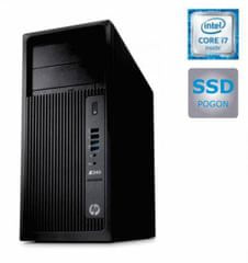 HP namizni računalnik Z240 i7-6700/16GB/SSD512GB/IntelHD/W10Pro (Y3Y32EA)