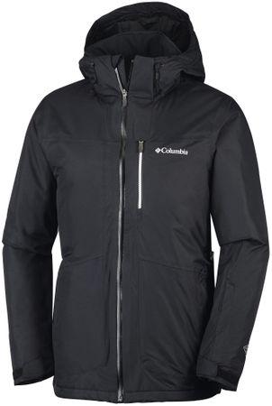 Columbia jakna Peyto's Pitch, moška, črna, M