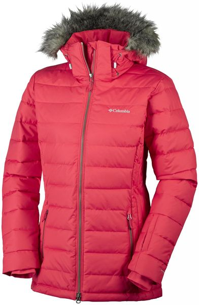 Columbia Ponderay Jacket Red Camellia L