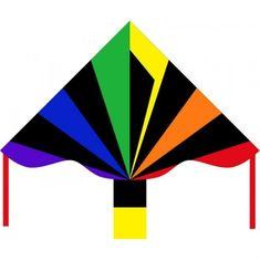 Invento Eco Line Simple Flyer Black Rainbow sárlány, 120 cm