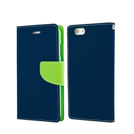 Havana preklopna torbica Fancy Diary Samsung Galaxy S7 Edge G935, modro-zelena