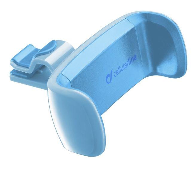 CellularLine Univerzální držák STYLE&COLOR do ventilace, modrá