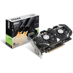 MSI GeForce GTX 1050 TI OC 4GB, DDR5 Videókártya