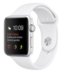 Apple Watch Series 1, 42 mm, srebrny