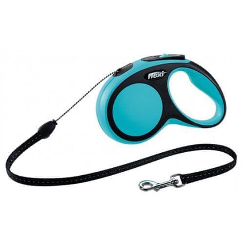 Flexi vodítko New Comfort S lanko 8m/12kg modré