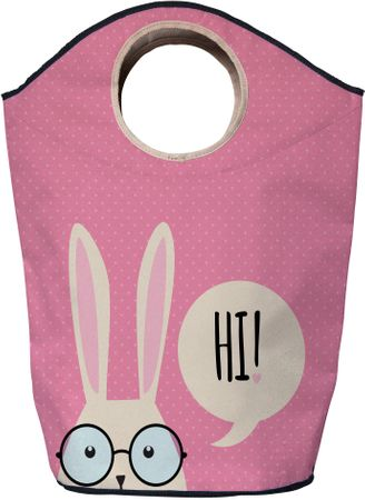 Butter Kings Taška na prádlo Hi Bunny