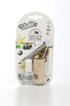 Shake dišava + dodatno polnilo Vanilja & črni ribez 2/1, 2 x 4,5 ml