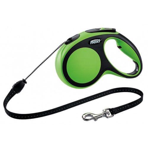 Flexi vodítko New Comfort M lanko 5m/20kg zelené