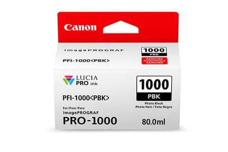 Canon kartuša PFI-1000, za fotografije, črna