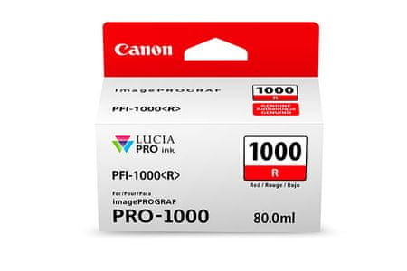 Canon kartuša PFI-1000, rdeča