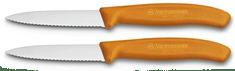 Victorinox nož za zelenjavo (6 7636 L119B), 2 kosa, oranžen