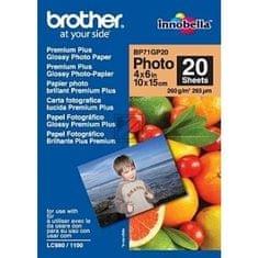 Brother foto papir 10 x 15 cm, 20 listov