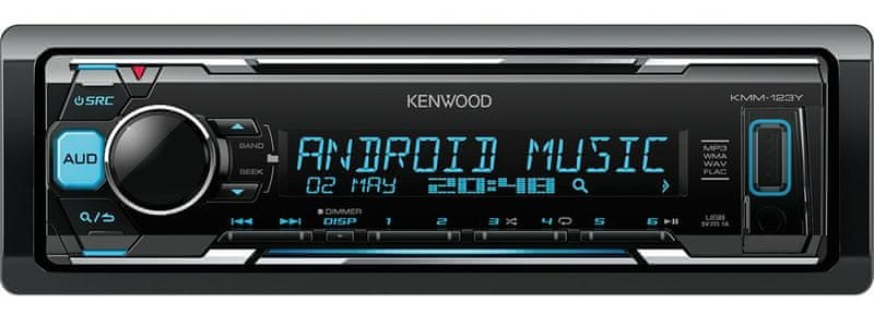 Kenwood Electronics KMM-123Y