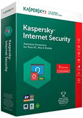 Kaspersky spletna zaščita Internet Security, za 3 naprave, 1 leto + 3 mesece GRATIS