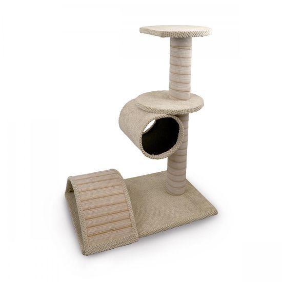 Argi Becca kaparófa macskáknak, bézs