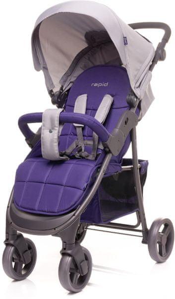 4Baby Sportovní kočárek Rapid, Purple