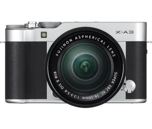 FujiFilm X-A3 + 16-50 Silver