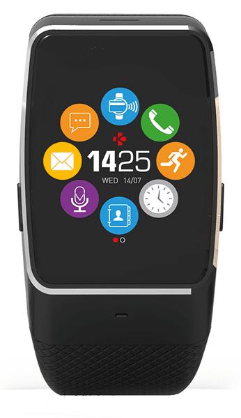 MyKronoz Chytré hodinky ZeWatch4 černé