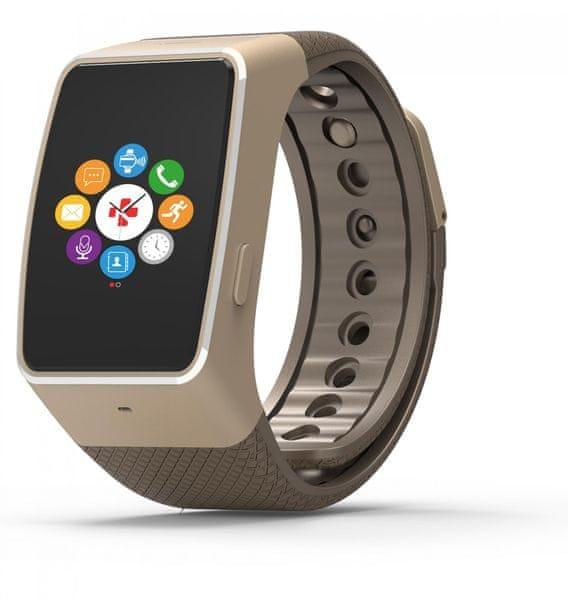 MyKronoz Chytré hodinky ZeWatch4 zlaté