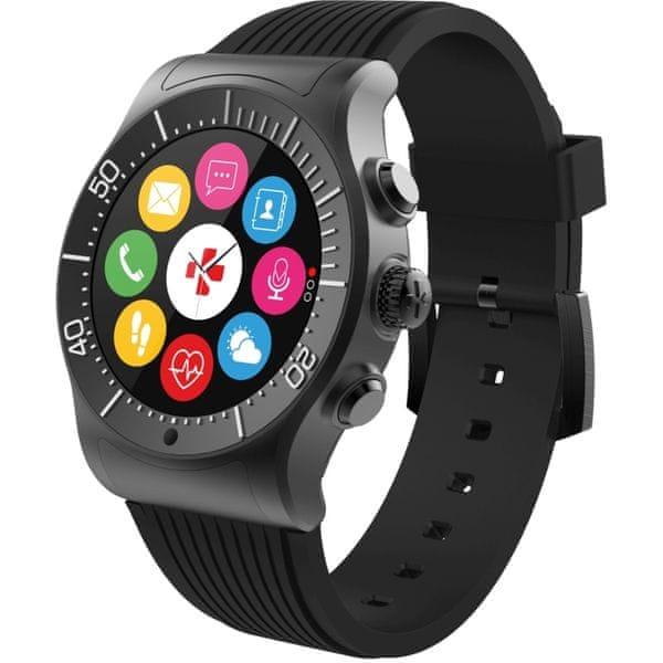 MyKronoz Chytré hodinky ZeSport černé