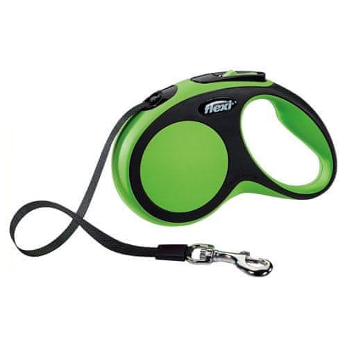 Flexi vodítko New Comfort XS pásek 3m/12kg zelené