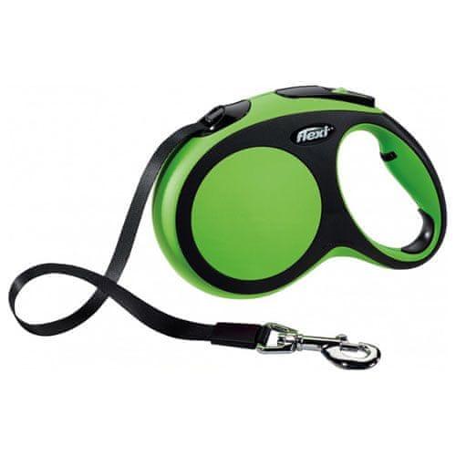 Flexi vodítko New Comfort L pásek 8m/50kg zelené
