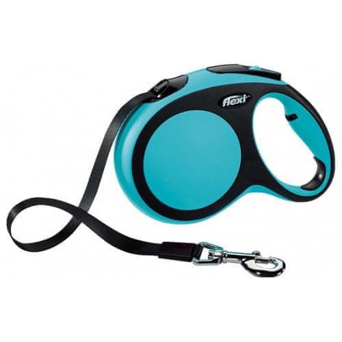 Flexi vodítko New Comfort L pásek 8m/50kg modré