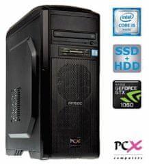 PCX namizni računalnik Extian F6106 i5-6500/8GB/275SSD+2TB/GTX1060/FreeDOS