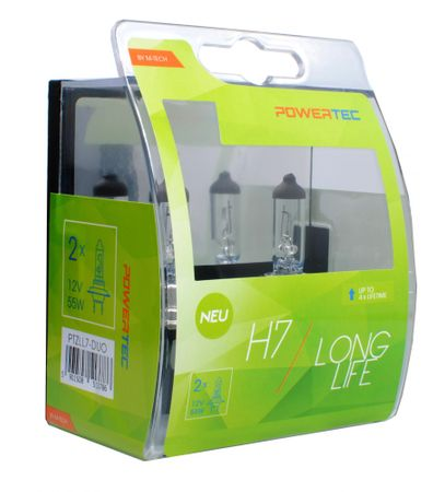 PowerTech žarnica Long Life (2 x H7)