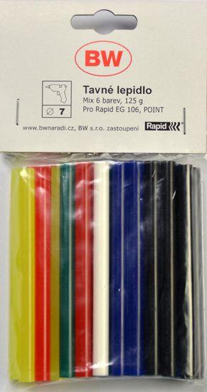 Rapid wkład do pistoletów na klej, 7mm, kolor