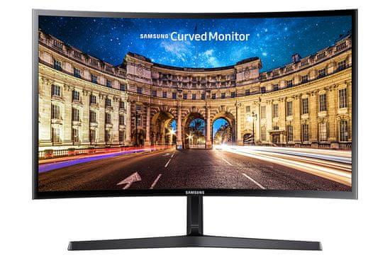 Samsung C27F398FWR monitor, 68,58 cm (27), VA, FHD, 4 ms, ukrivljen