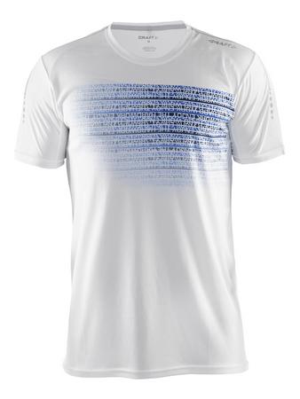 Craft moška športna majica Mind SS Tee, S, bela