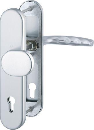 Hoppe varnostna garnitura Atlanta 86G/3331/3310/1530, ES1, F1, gumb/kljuka, 92/8 mm 82-87 mm