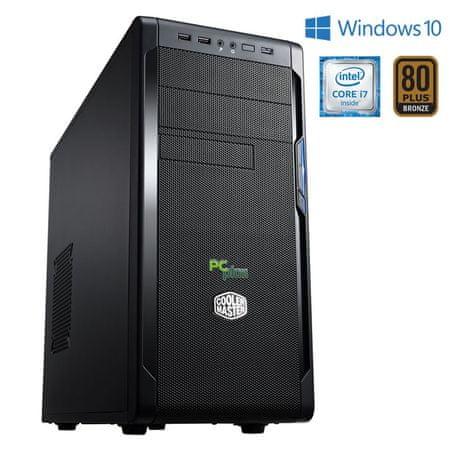 PCplus namizni računalnik Workstation i7/16GB/250GB SSD/HD Graphics 530/Win10Pro