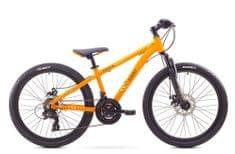 """Romet dziecięcy rower górski Rambler Dirt 24"""" pomarańczowy S 12"""" 2017"""