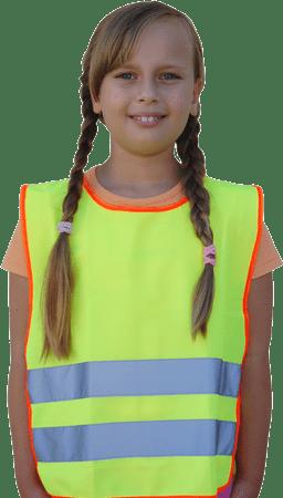 Masterplast odsevni varnostni telovnik, otroški