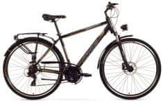 Arkus rower trekkingowy Czajka M Disc czarny-pomarańczowy model 2015